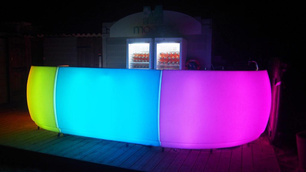 Bar lumineux version médium